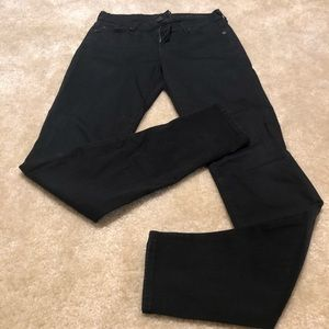 7 for all mankind black the skinny jean size 26